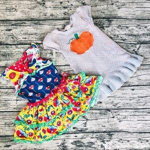 Super Cute & Fun Halloween/Casual Dress Bundle_2T
